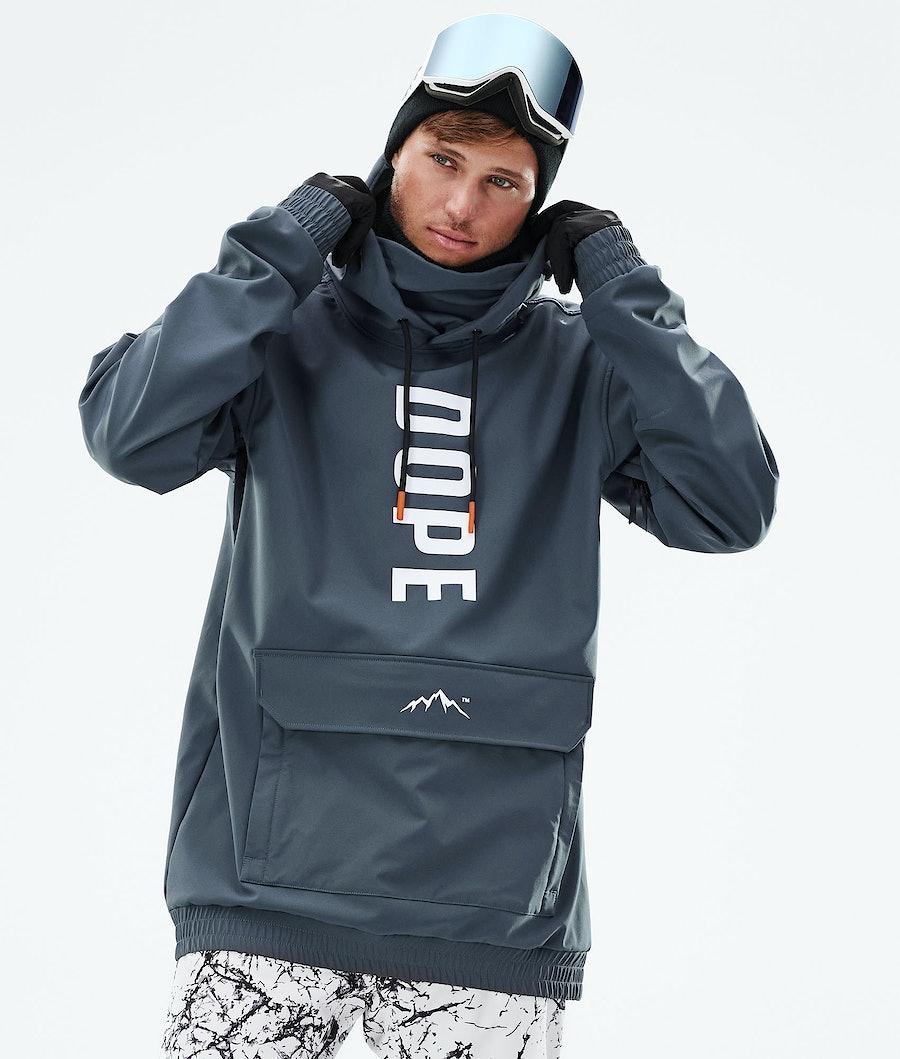 Dope Wylie Snowboard Jacket Metal Blue