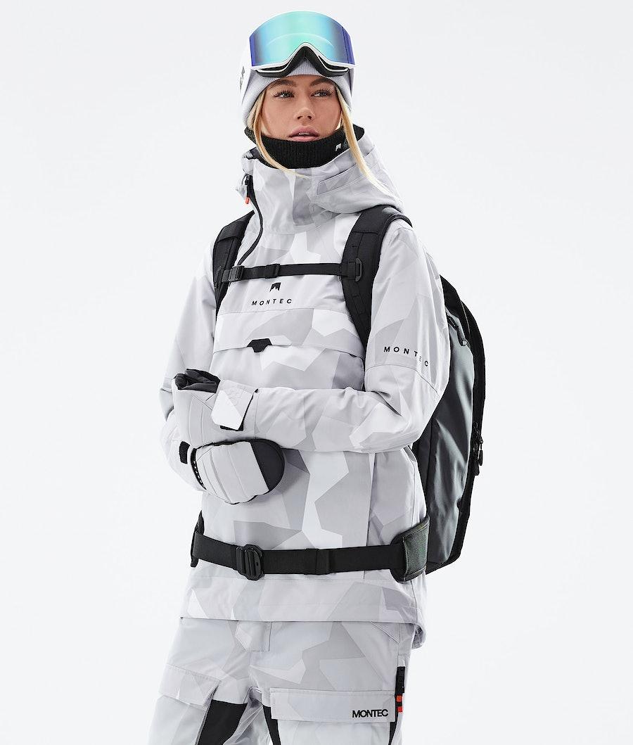 Montec Dune W Women's Ski Jacket Snow Camo