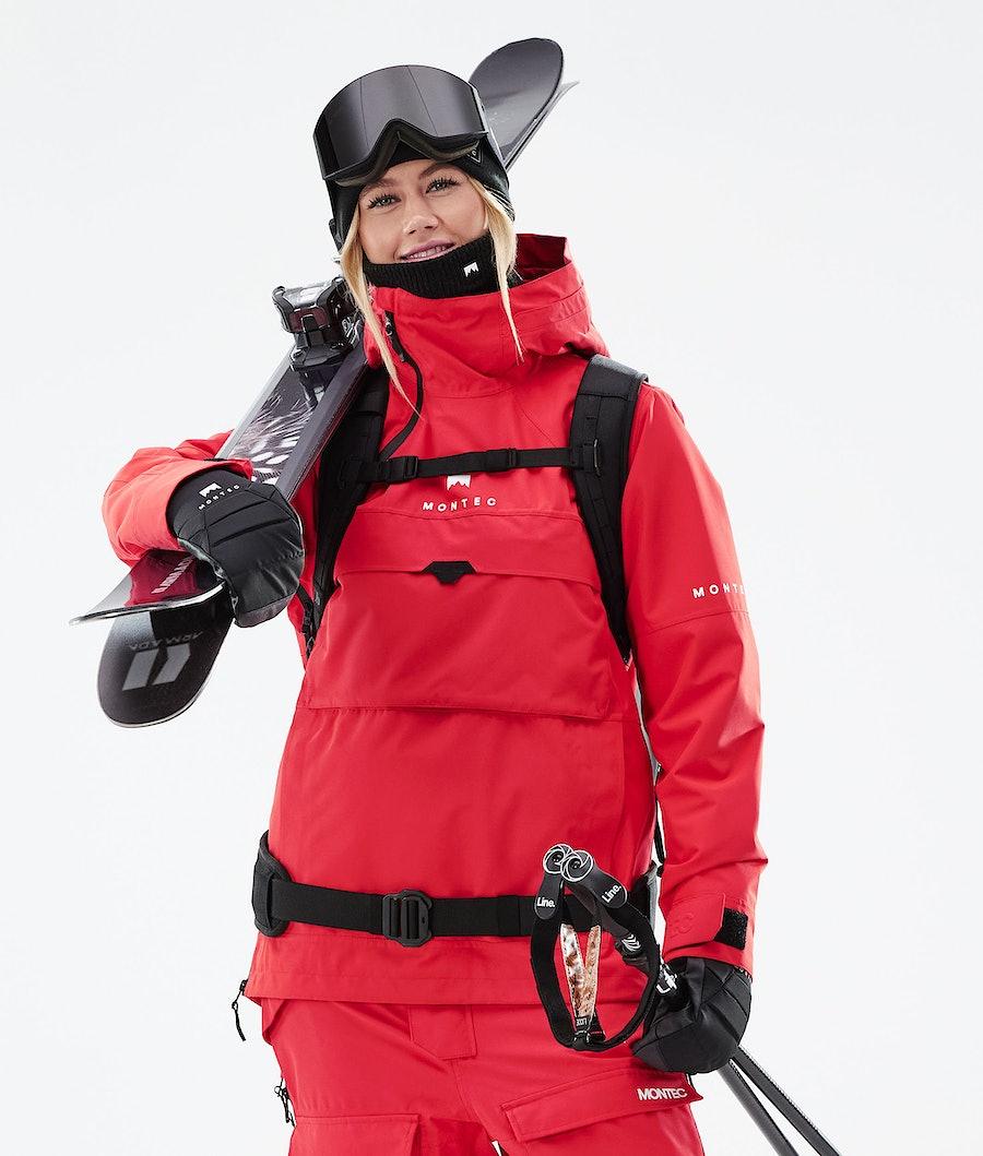 Montec Dune W Ski Jacket Red