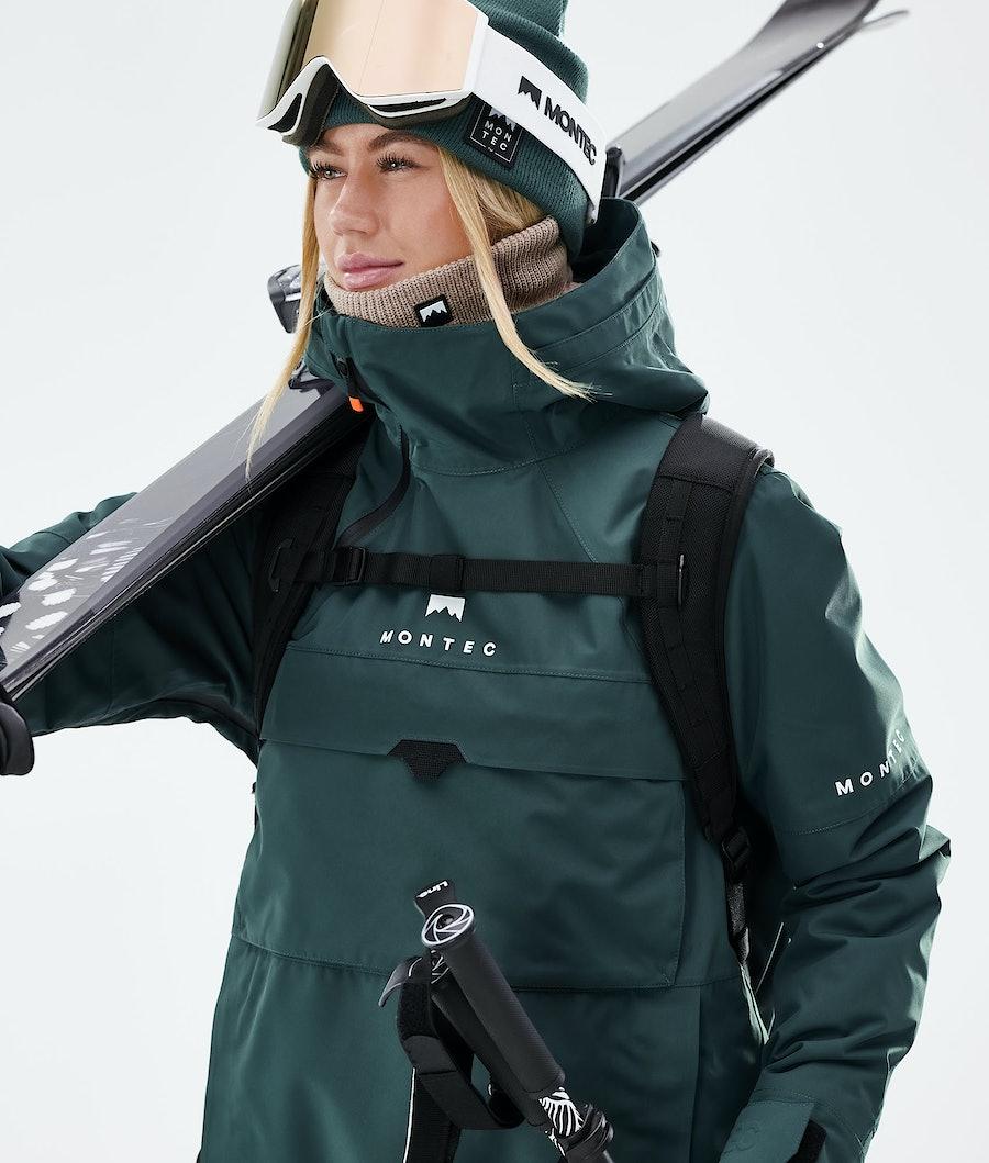 Montec Dune W Women's Ski Jacket Dark Atlantic