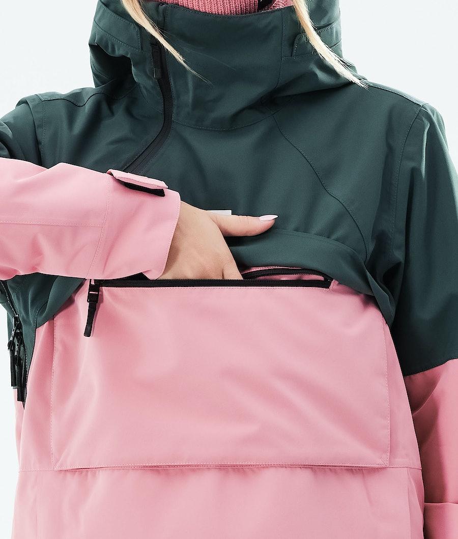 Montec Dune W Women's Ski Jacket Dark Atlantic/Pink