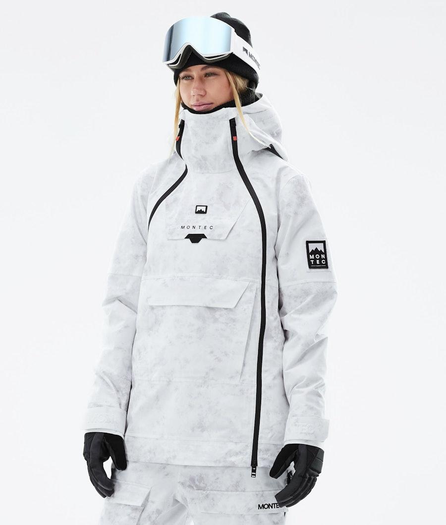 Montec Doom W Ski Jacket White Tiedye