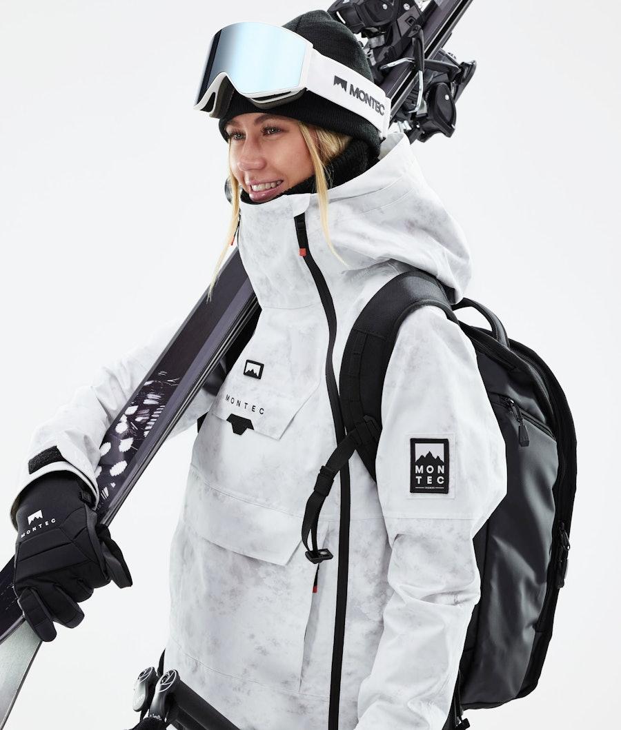 Montec Doom W Women's Ski Jacket White Tiedye
