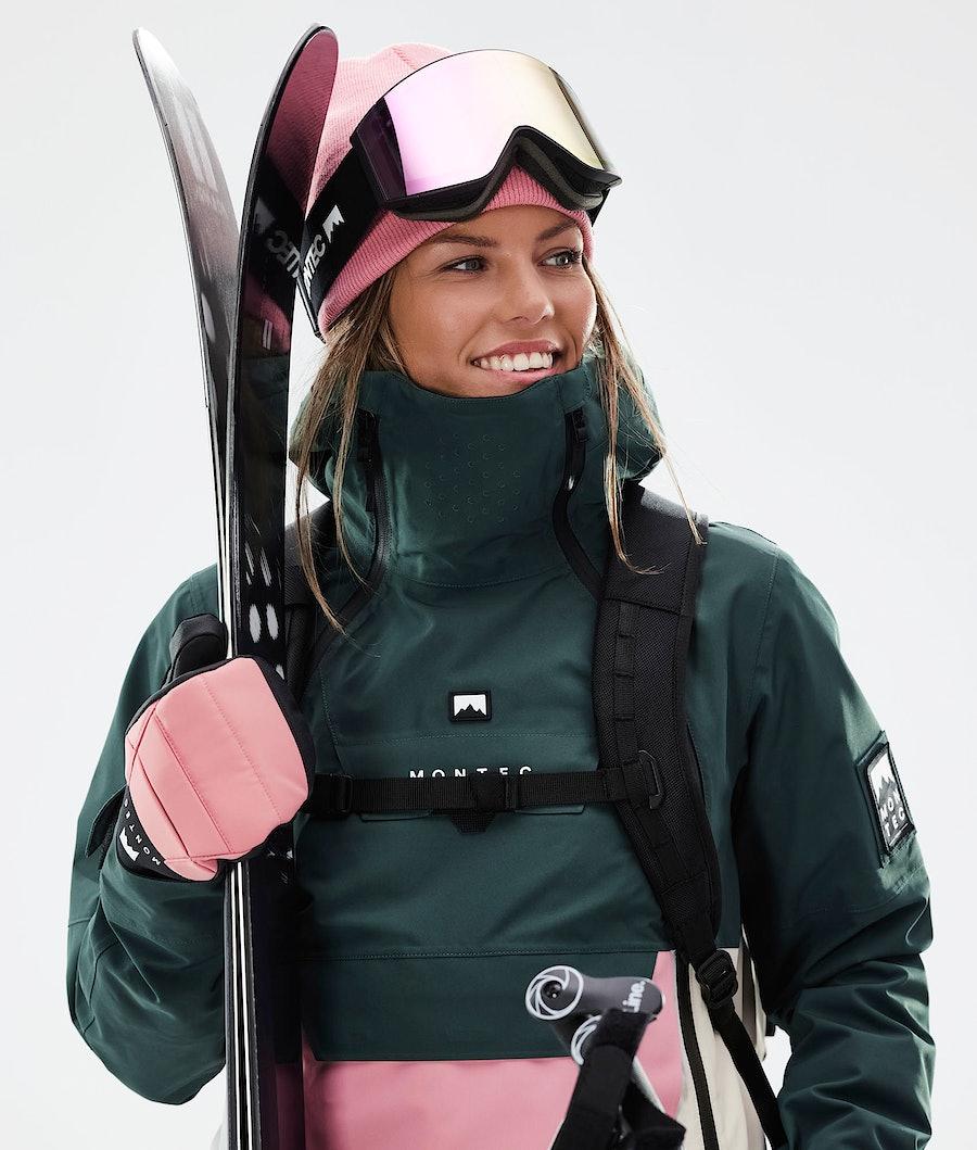 Montec Doom W Women's Ski Jacket Dark Atlantic/Pink/Light Grey