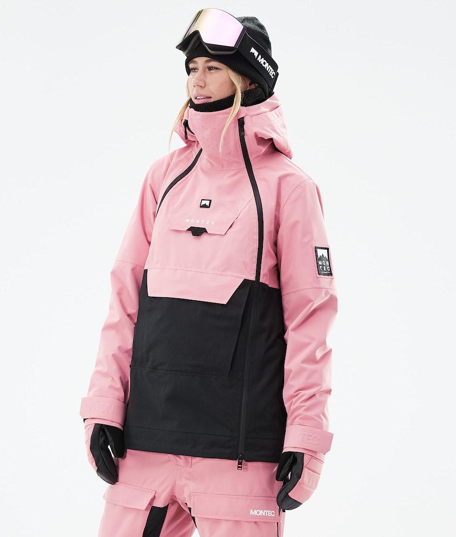 Montec Doom W Ski Jacket Pink/Black