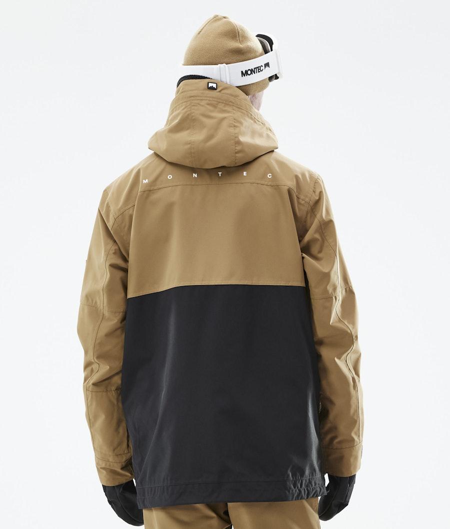 Montec Doom Ski Jacket Gold/Black