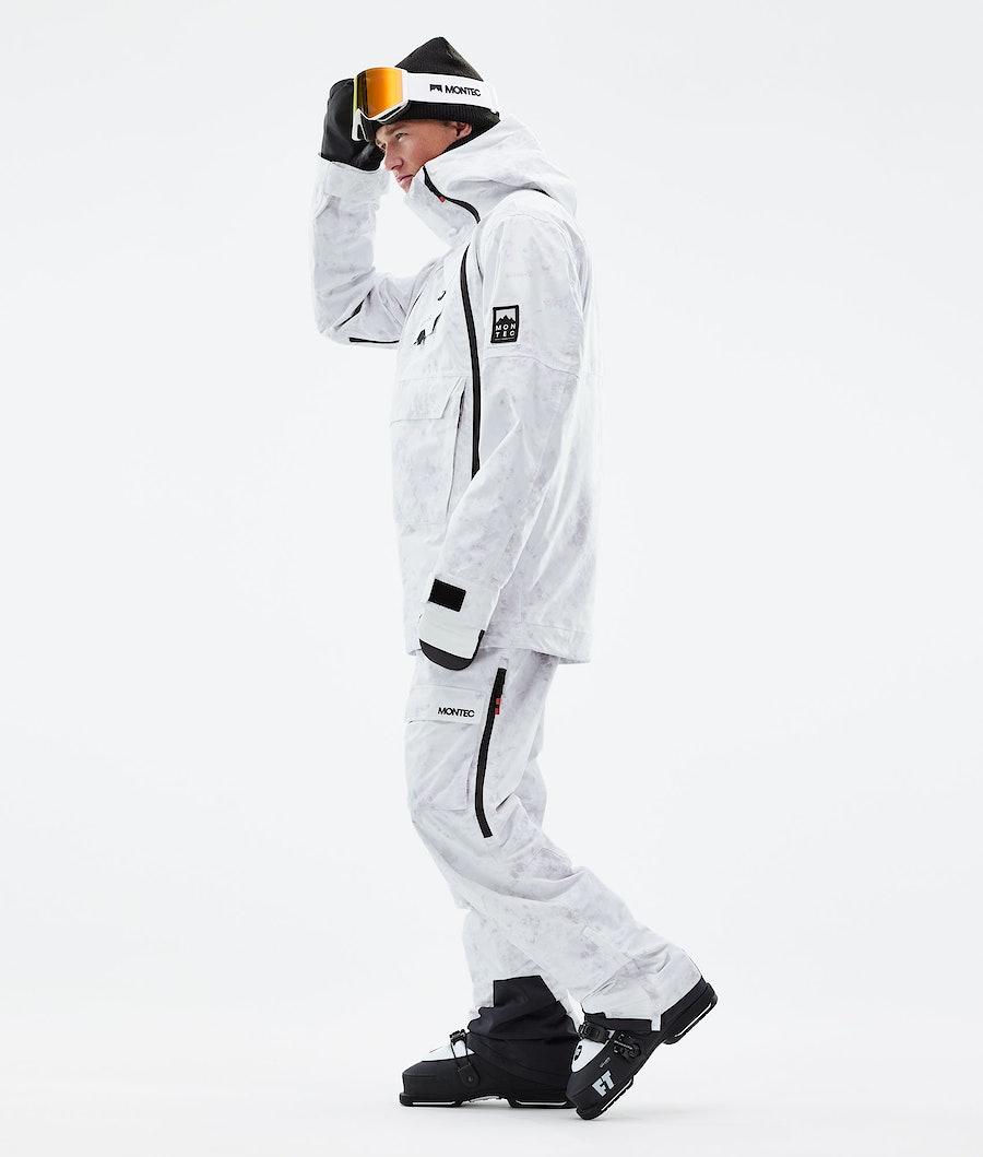 Montec Doom Ski Jacket White Tiedye