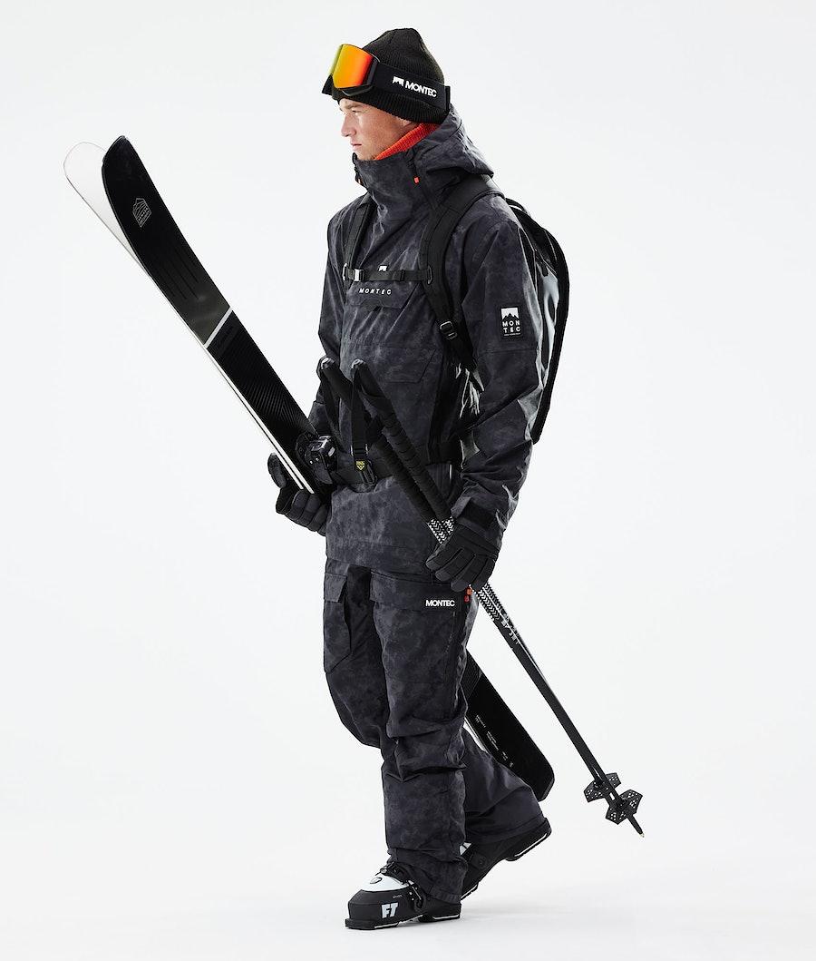 Montec Doom Ski Jacket Black Tiedye