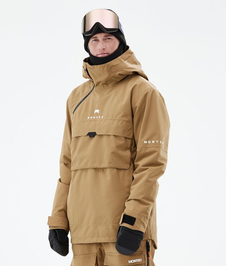 Montec Dune Ski Jacket Gold