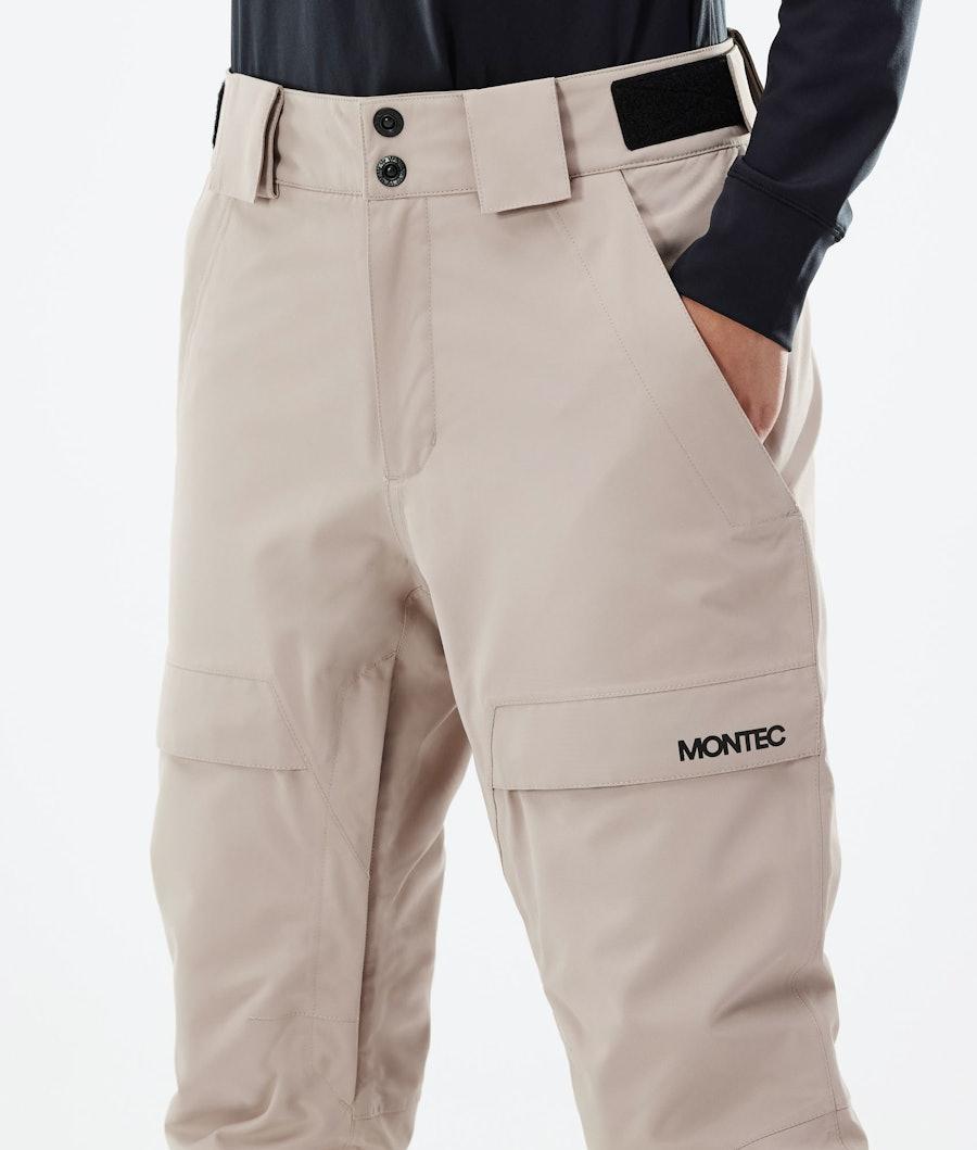 Montec Dune W Women's Ski Pants Sand