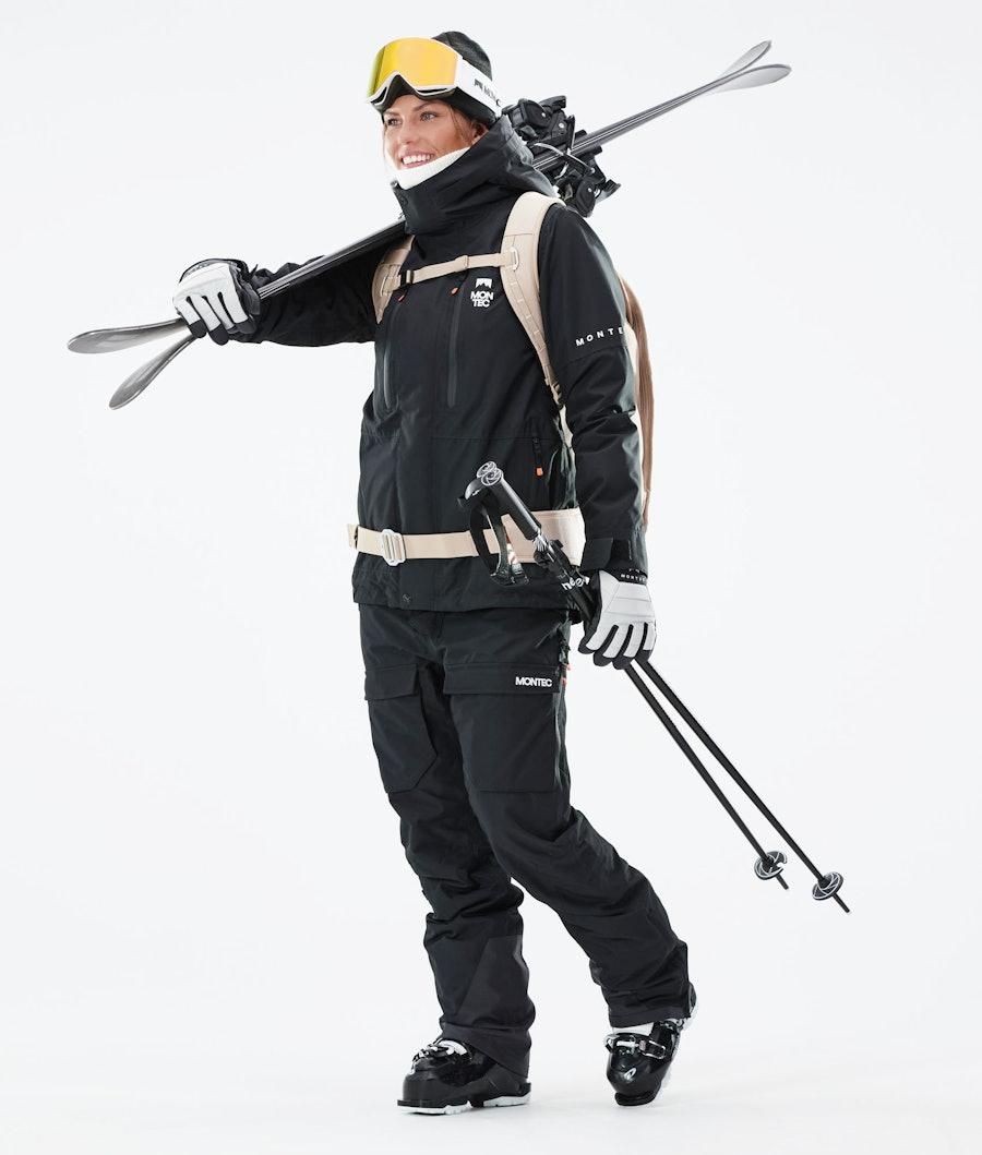 Montec Fawk W Women's Ski Jacket Black