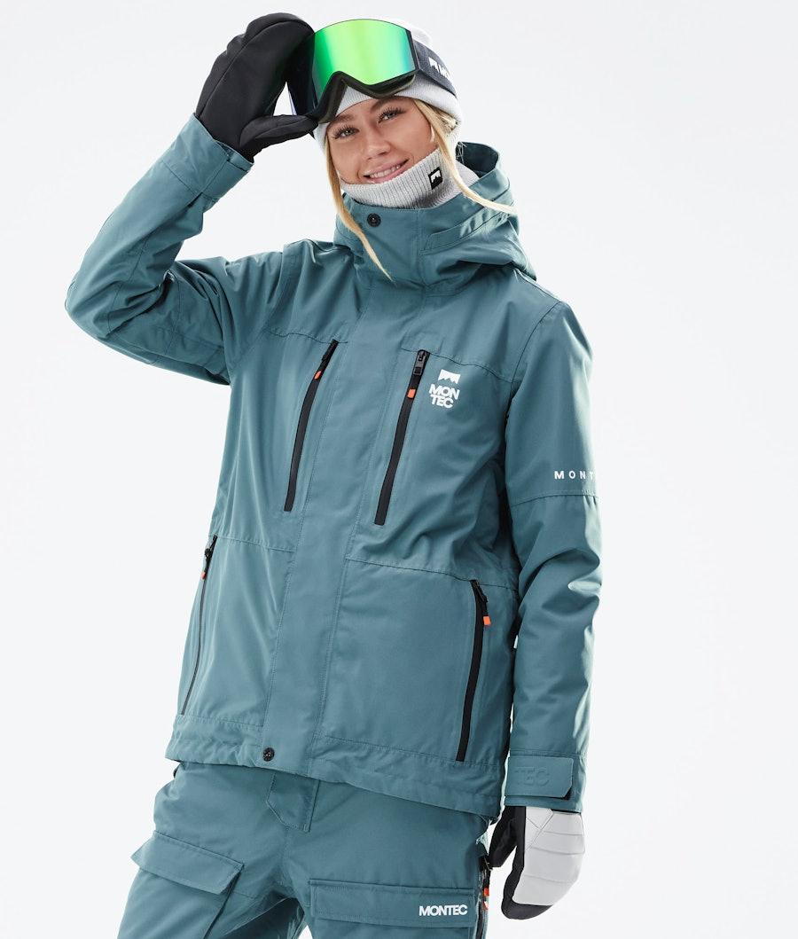 Montec Fawk W Ski Jacket Atlantic