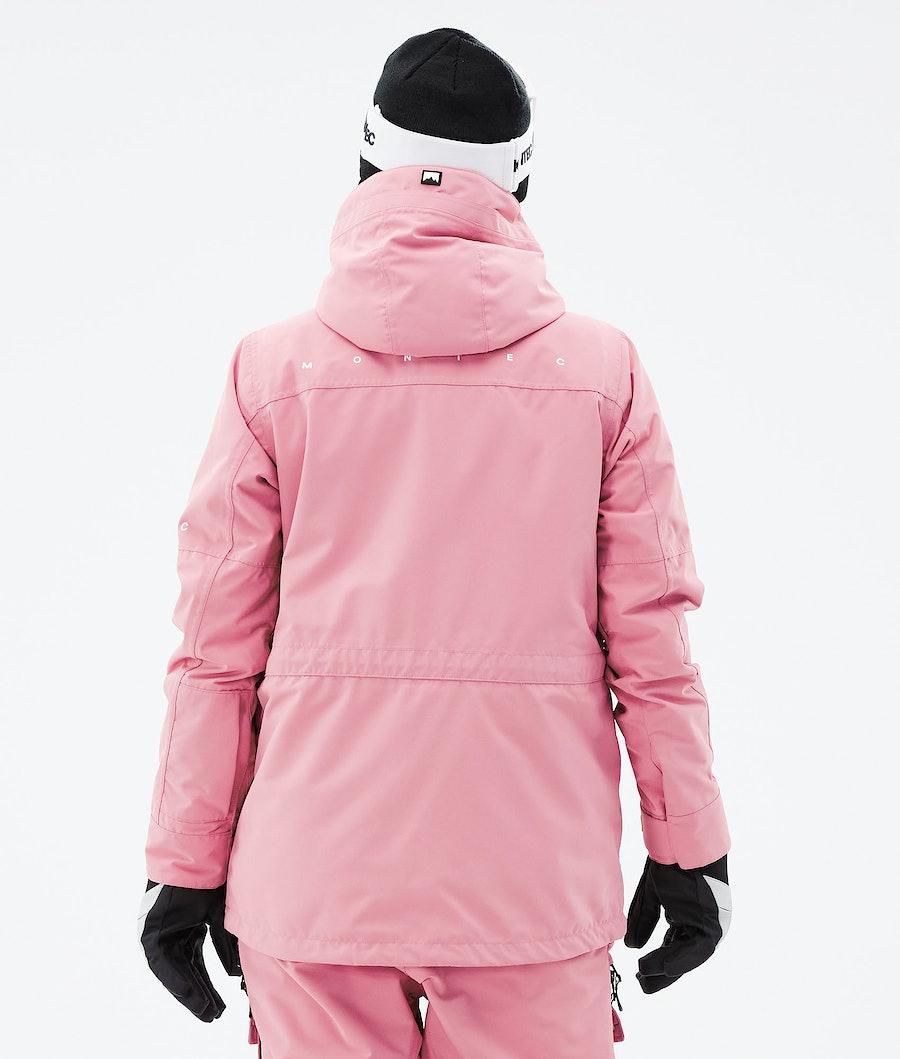 Montec Fawk W Women's Ski Jacket Pink