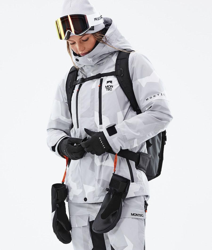 Montec Fawk W Women's Ski Jacket Snow Camo