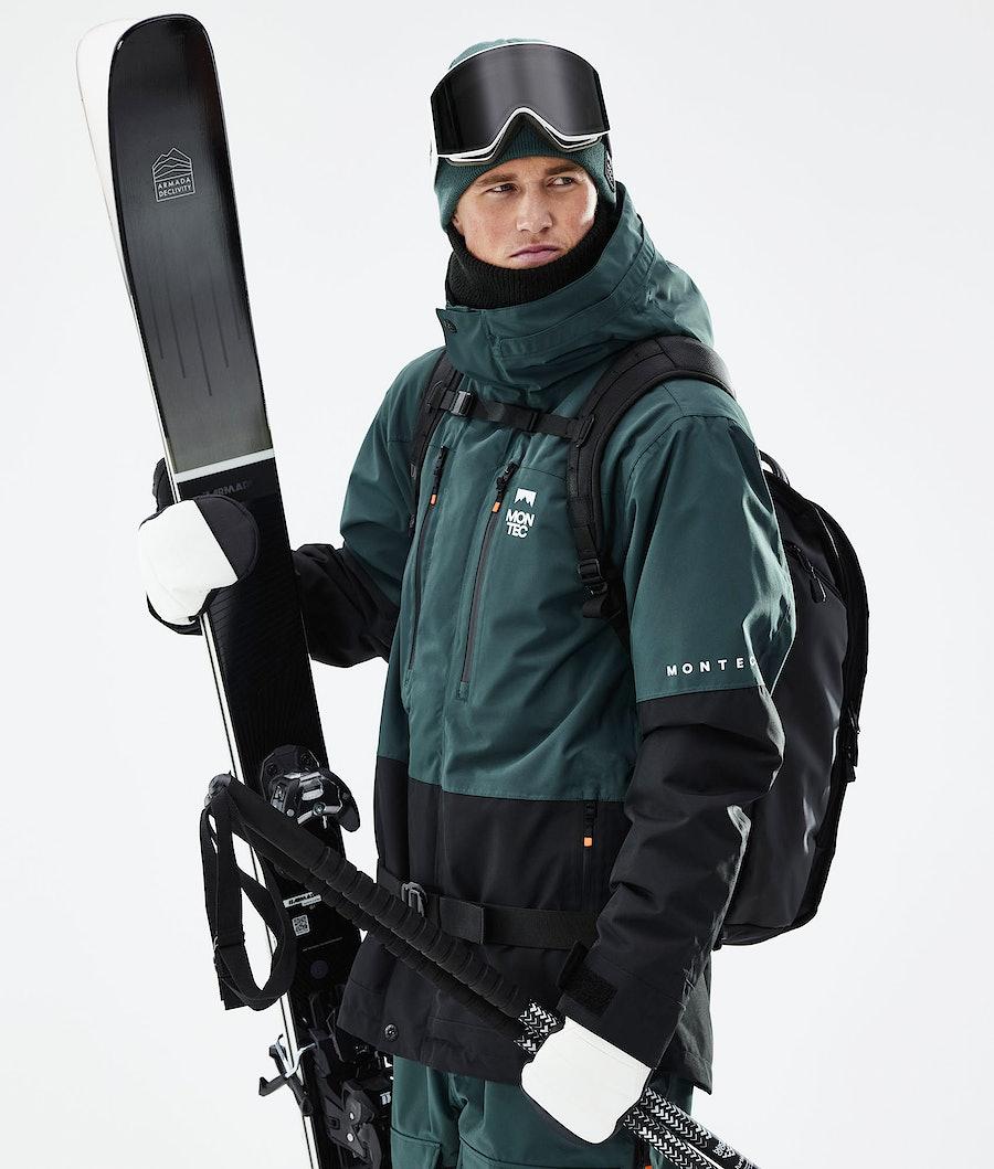 Montec Fawk Ski Jacket Dark Atlantic/Black