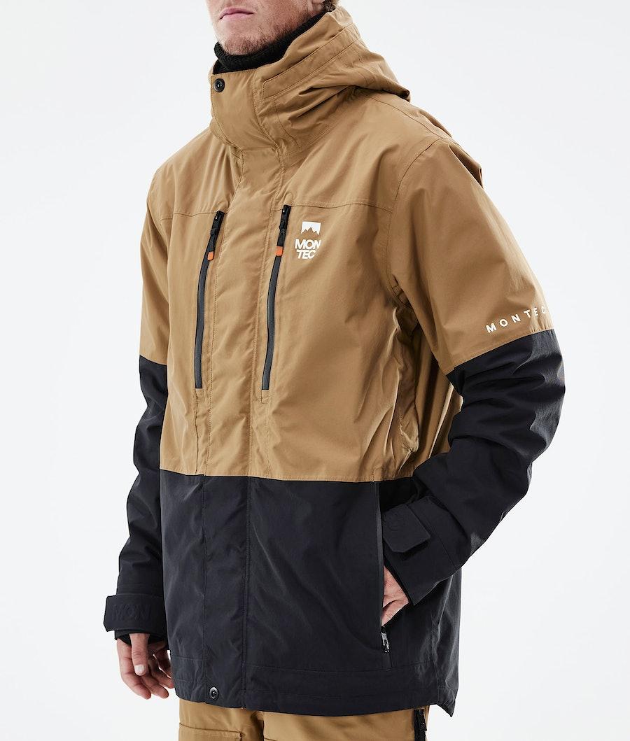 Montec Fawk Ski Jacket Gold/Black