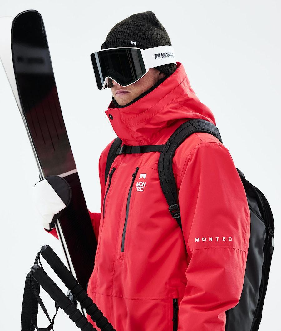 Montec Fawk Ski Jacket Red