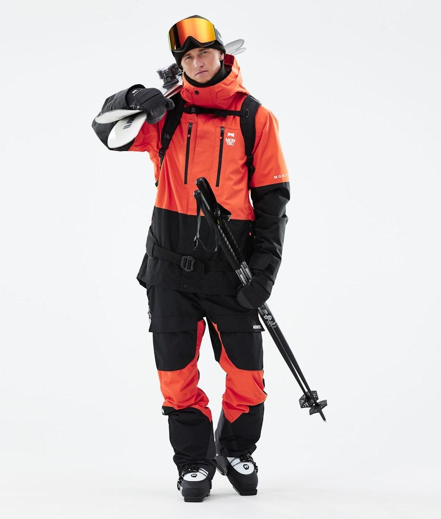 Montec Fawk Ski Jacket Orange/Black