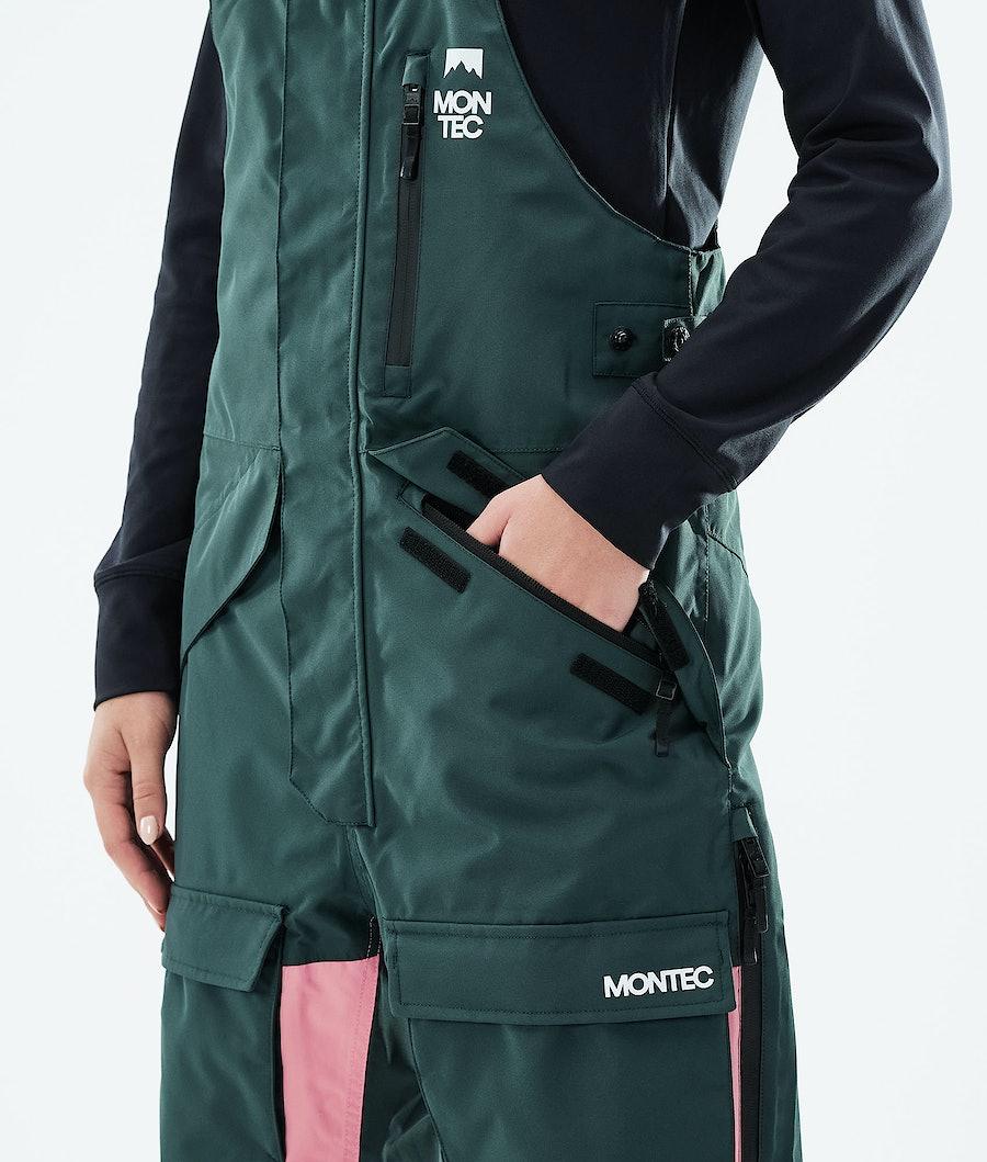 Montec Fawk W Women's Ski Pants Dark Atlantic/Pink