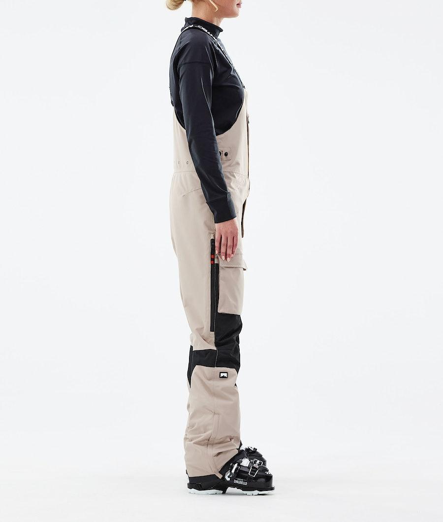 Montec Fawk W Women's Ski Pants Sand/Black