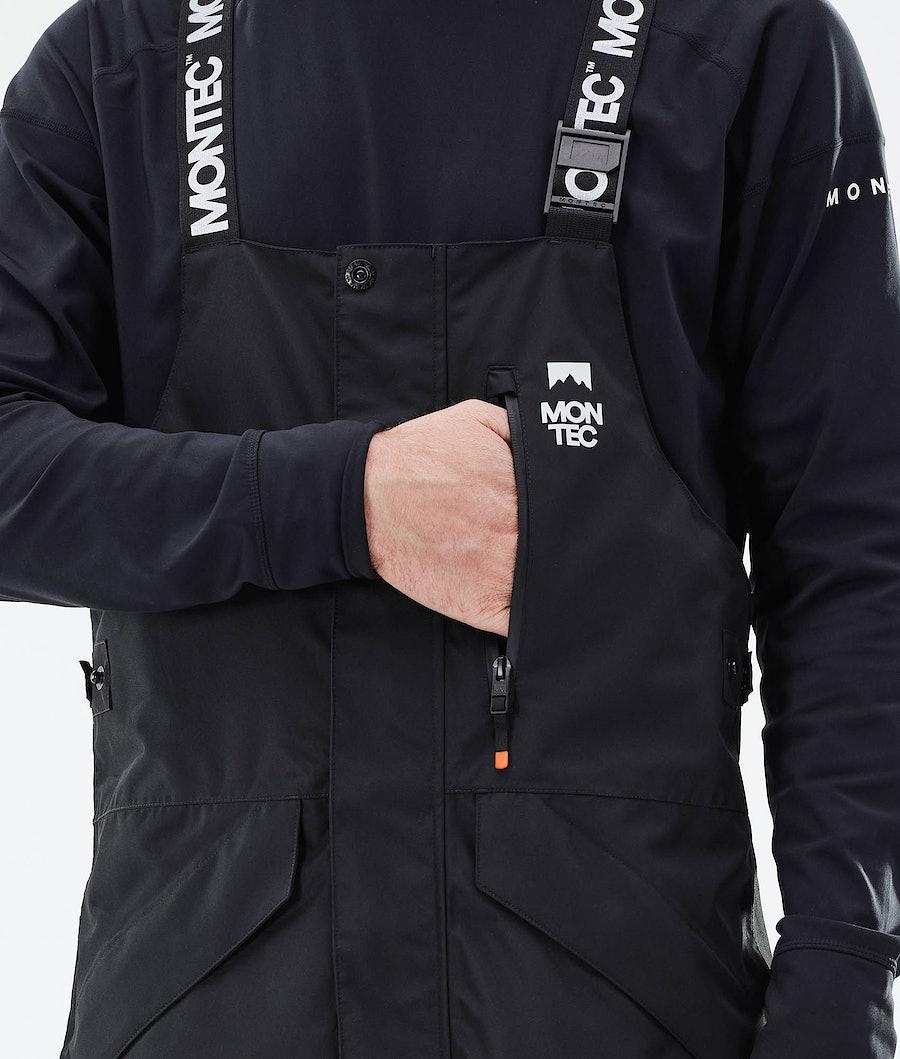 Montec Fawk Ski Pants Black/Light Grey/Black