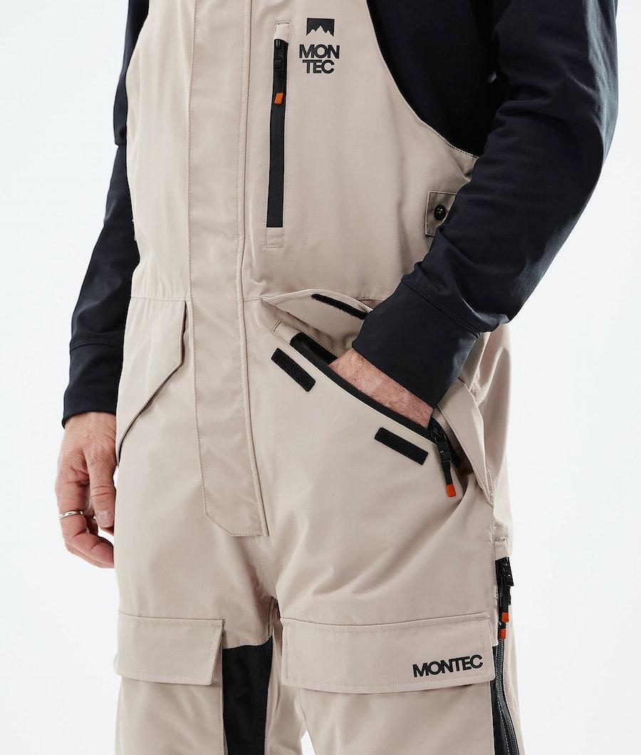 Montec Fawk Ski Pants Sand/Black