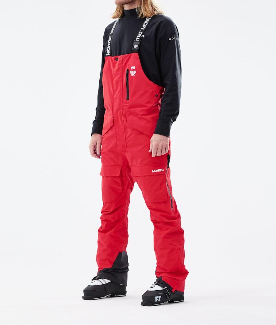 Montec Fawk Ski Pants Red