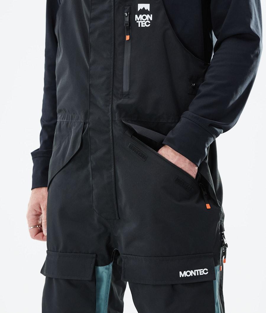 Montec Fawk Ski Pants Black/Atlantic