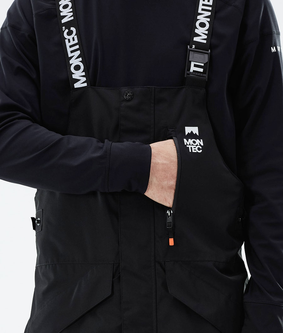 Montec Fawk Ski Pants Black/Orange
