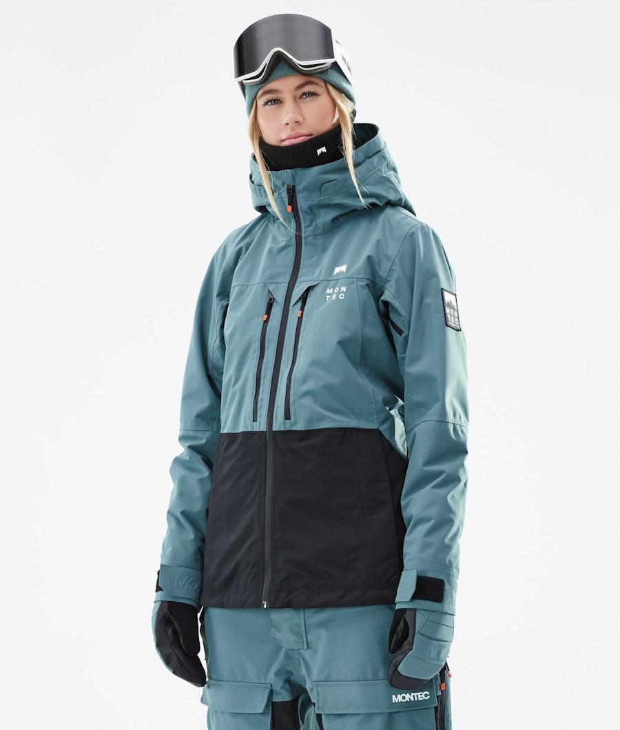 Montec Moss W Ski Jacket Atlantic/Black