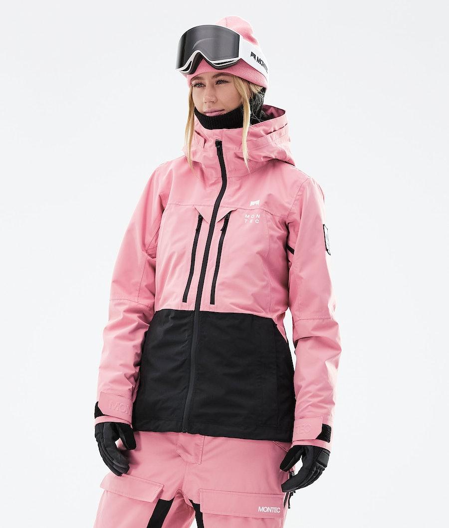 Montec Moss W Ski Jacket Pink/Black