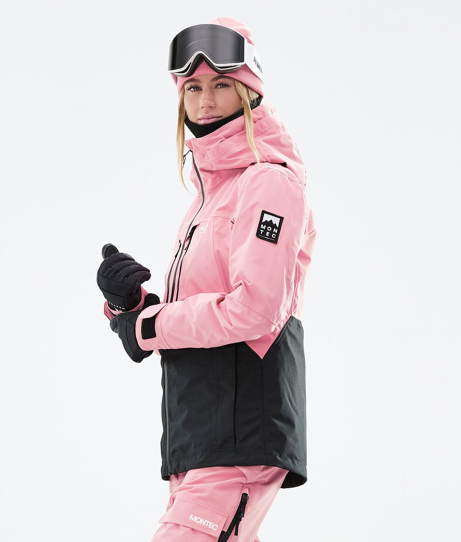 Montec Moss W Women's Ski Jacket Pink/Black
