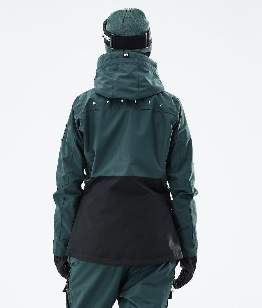 Montec Moss W Women's Ski Jacket Dark Atlantic/Black