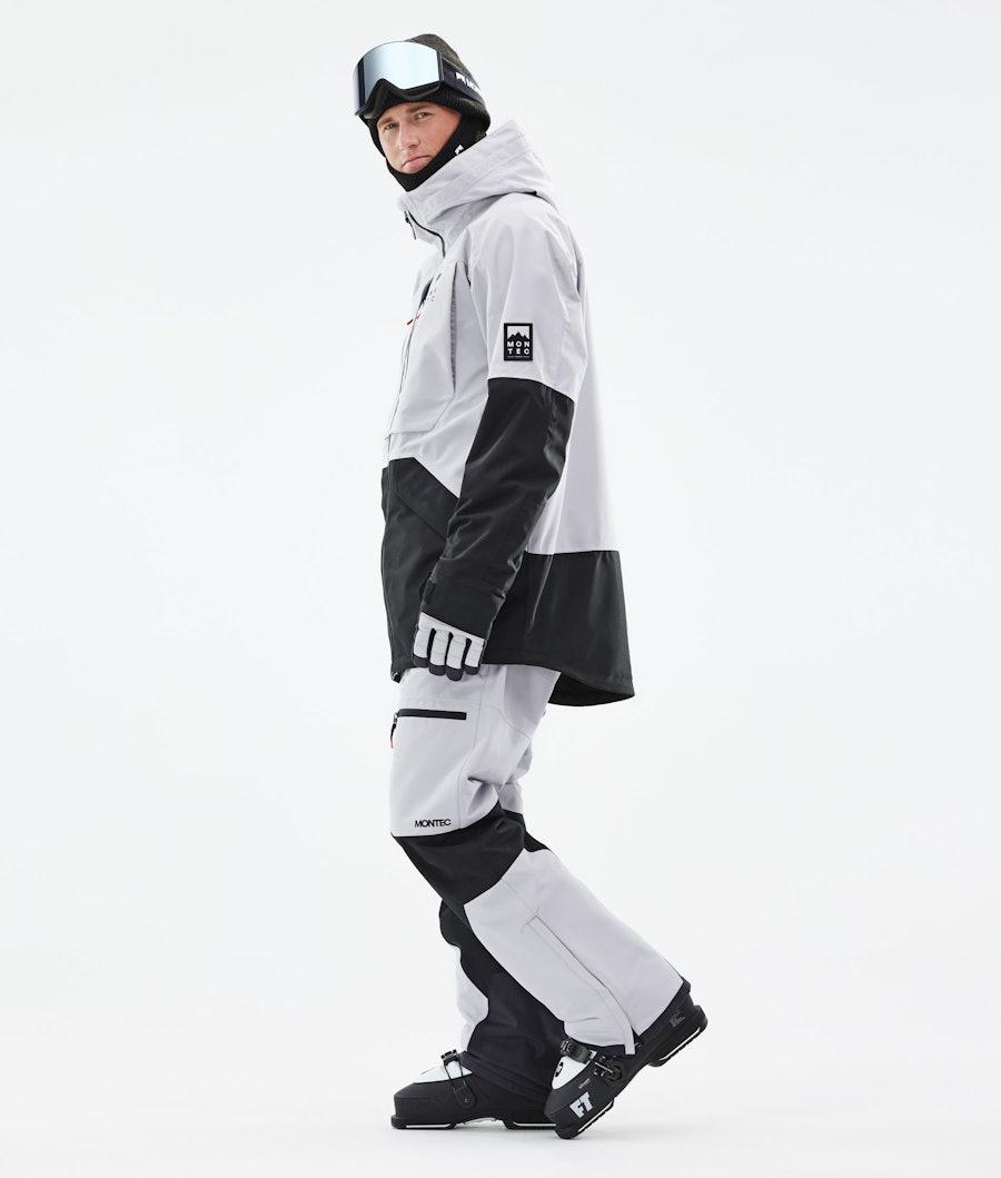 Montec Moss Ski Jacket Light Grey/Black