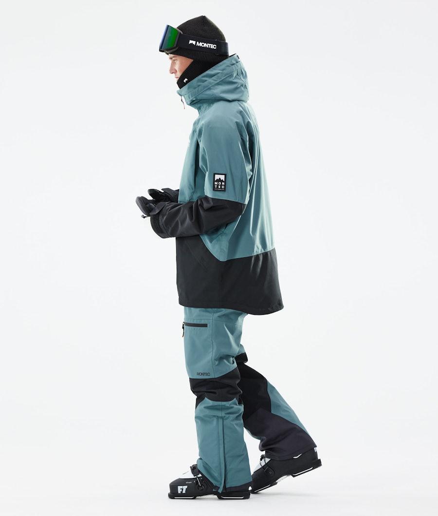 Montec Moss Ski Jacket Atlantic/Black