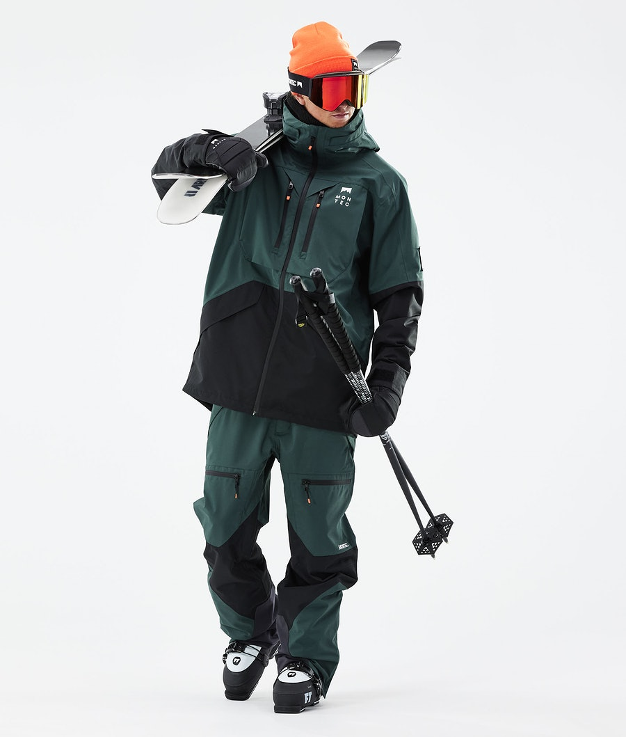 Montec Moss Ski Jacket Dark Atlantic/Black