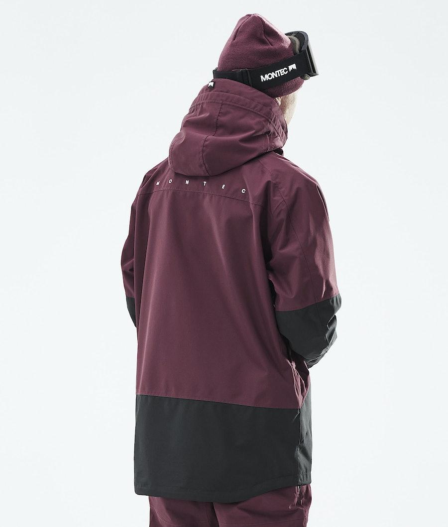 Montec Moss Ski Jacket Burgundy/Black
