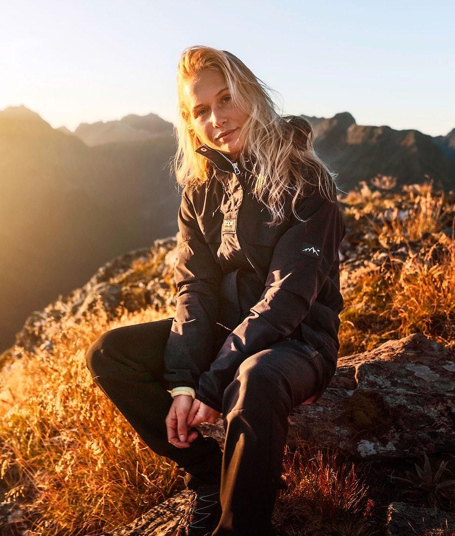Dope Trekker 19 W Turjakke Dame Black
