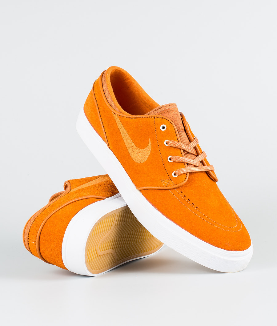 Nike Zoom Stefan Janoski Sko Cinder Orange/Cinder Orange-White