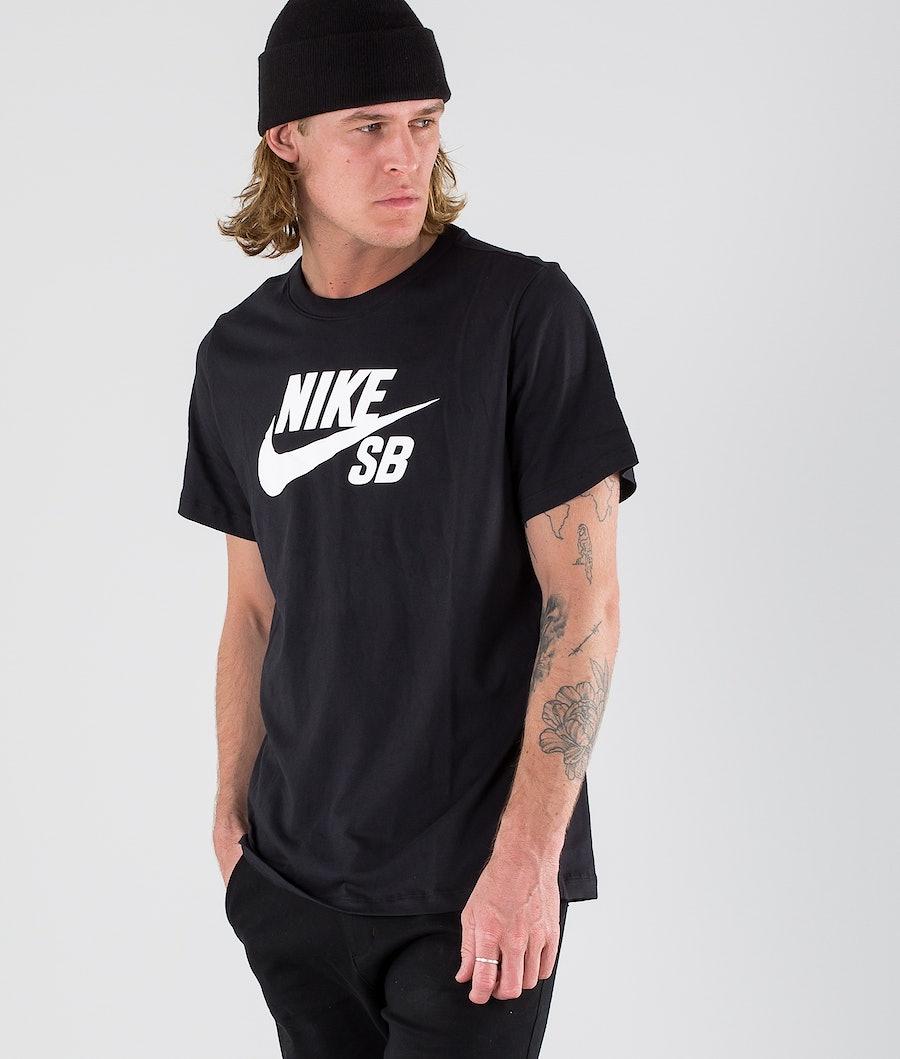 Nike SB Dry Tee Dfct Logo T-shirt Black/White