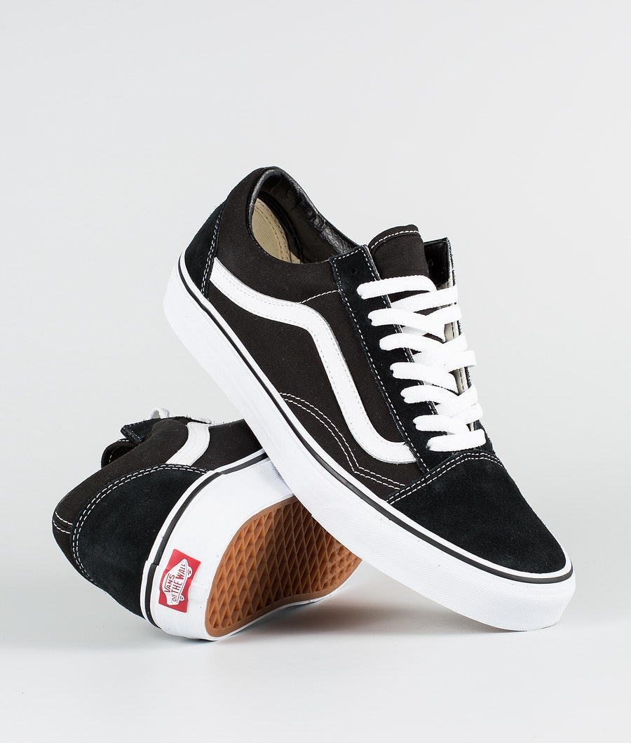 Vans Old Skool Skor Black/White