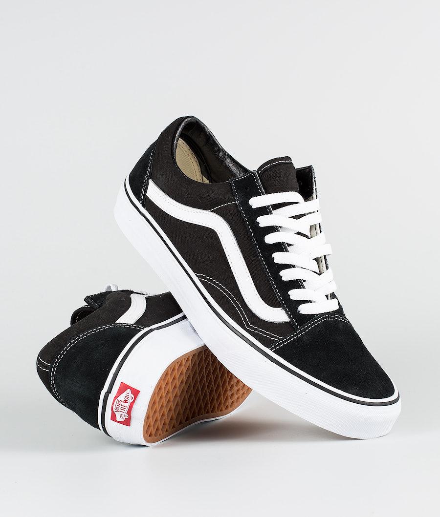 Vans Old Skool Schoenen Black/White