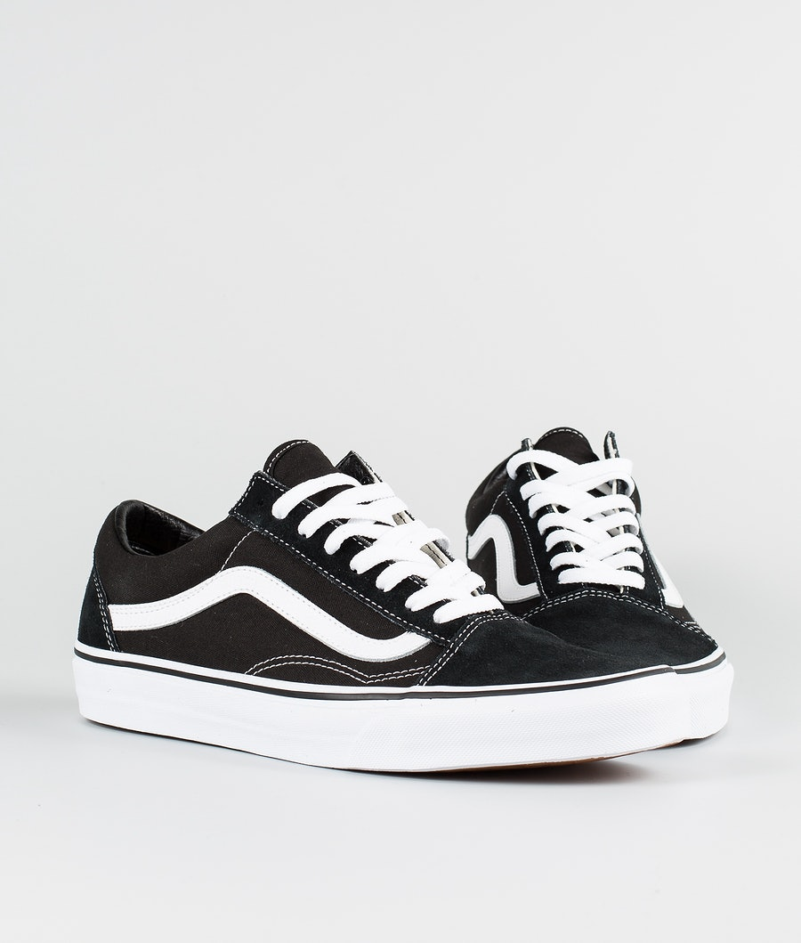 Vans Ua Old Skool Schuhe Black/White