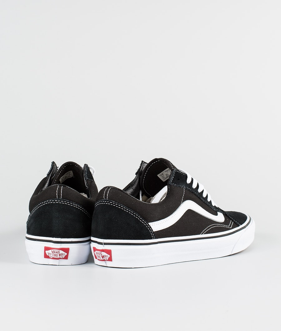 Vans Ua Old Skool Skor Black/White