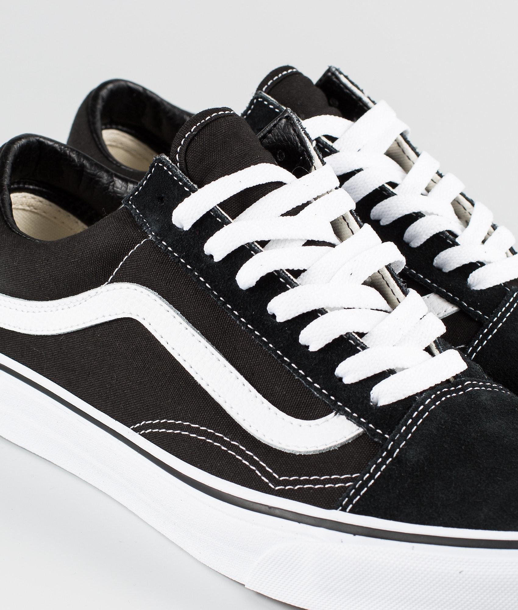 f4a6fe9b6a433b Vans Old Skool Shoes Black White - Ridestore.com