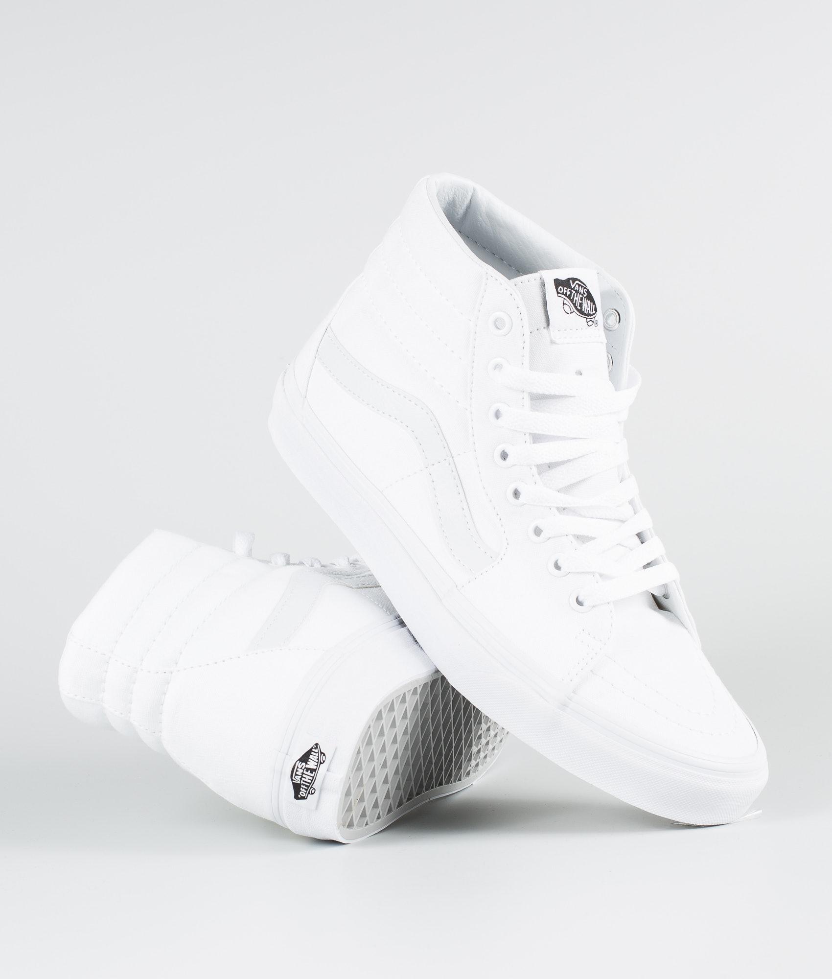 c3aee3d631 Vans Sk8-Hi Shoes True White - Ridestore.com
