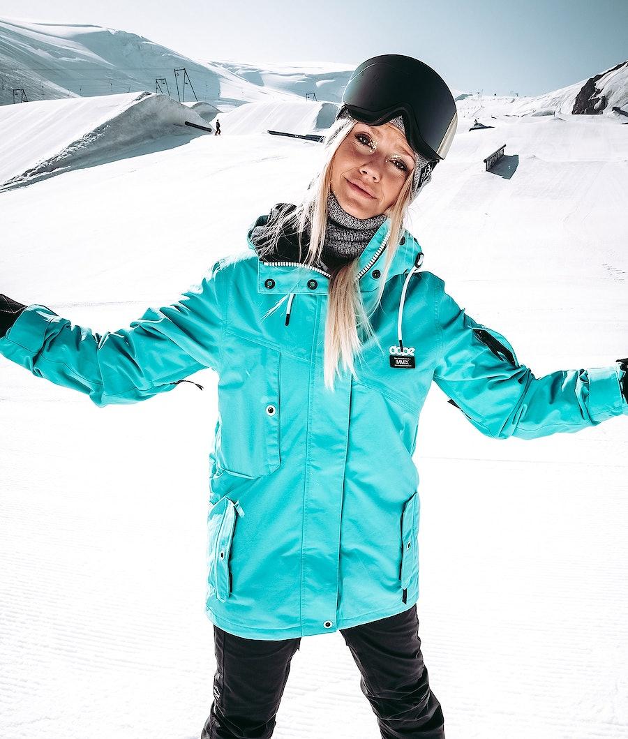 Dope Adept W 18 Veste de Ski Femme Azure