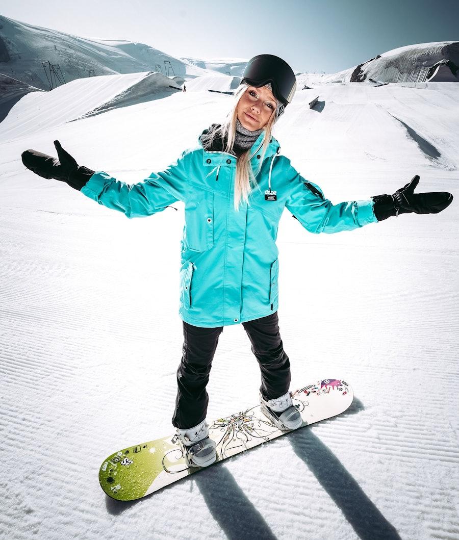 Dope Adept W 18 Snowboardjacka Dam Azure