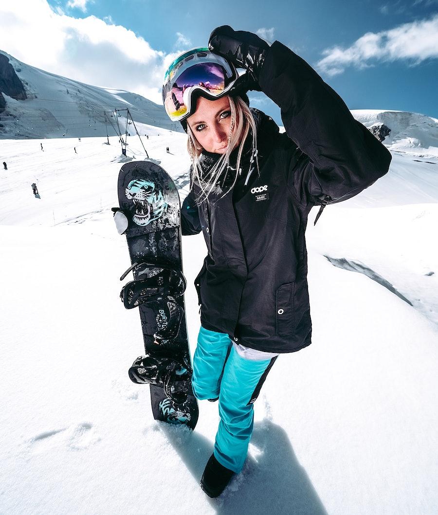 Dope Adept W 18 Snowboardjacka Dam Black