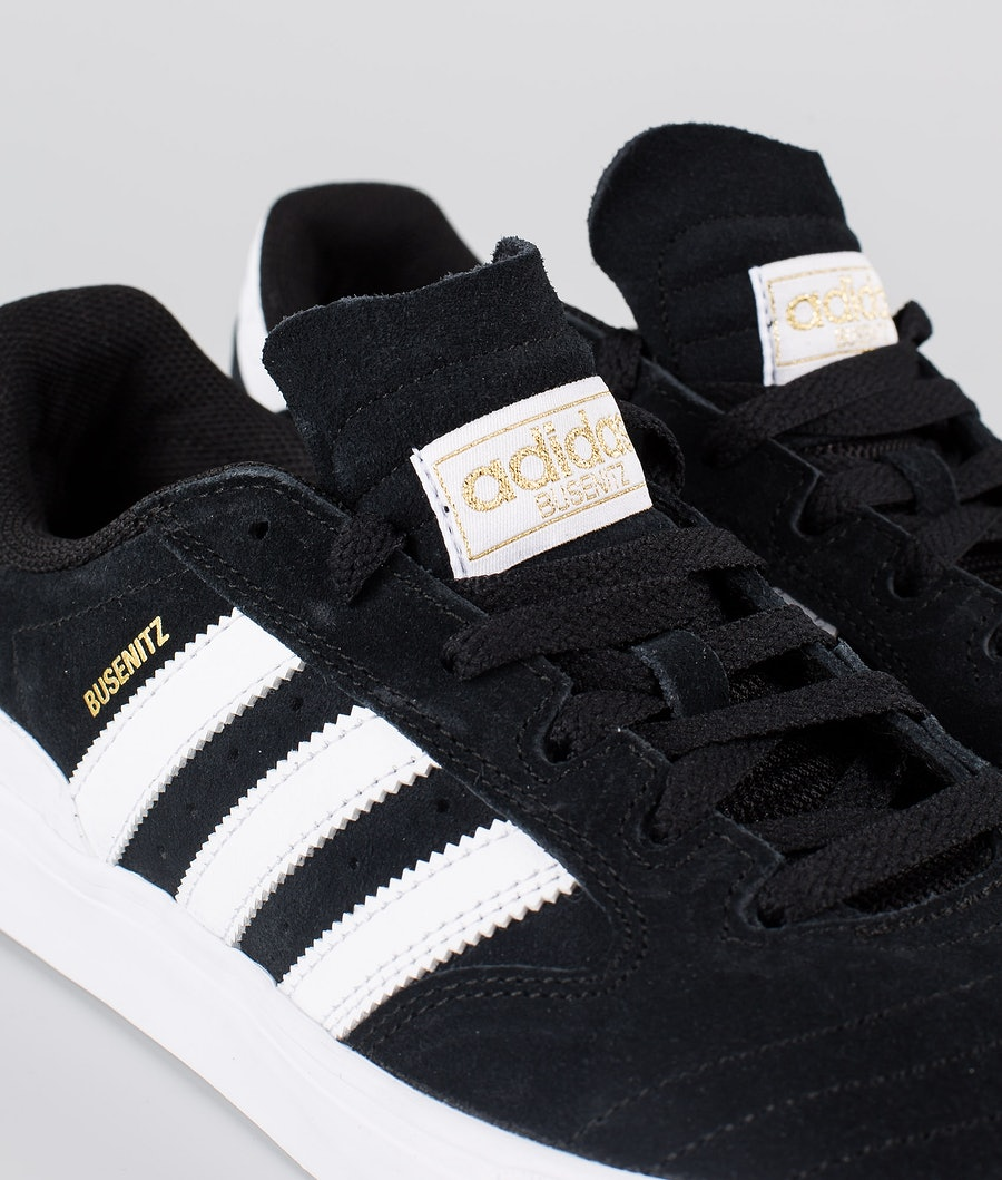 Adidas Skateboarding Busenitz Vulc II  Skor Core Black/Footwear White/Gum4